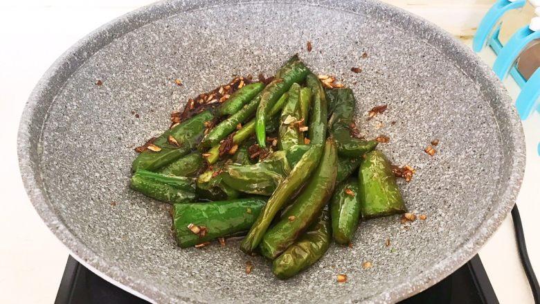超级下饭菜  油焖尖椒,油焖尖椒熟了