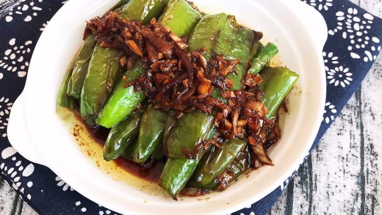 超级下饭菜  油焖尖椒,油焖尖椒出锅了