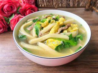 汤黄粿,成品图二