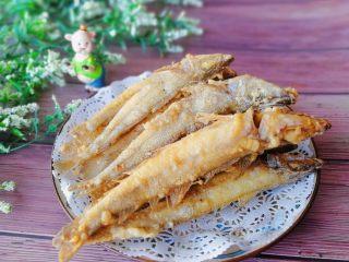 香酥沙丁鱼,成品图