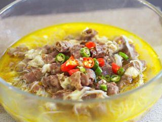 酸汤肥牛(简单版),加入椒圈