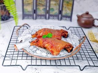 孜然烤琵琶鸭腿,特别入味,好吃极了。