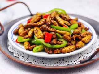 辣爆蚕蛹,香辣可口超级下饭。