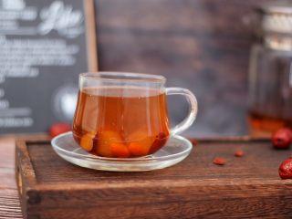 桂圆红枣茶,成品图