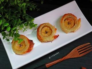 千层香蕉酥,特别喜欢这种做法简单,但又能满足味蕾的小甜点