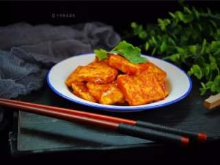 多福豆腐,酸酸甜甜,不仅好吃,还开胃。