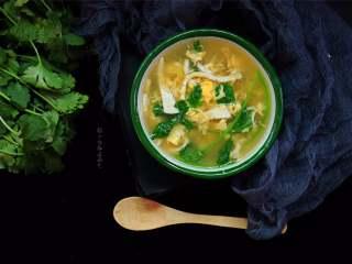 豆腐丝鸡蛋汤,这个汤我可以一下子喝一海碗,好喝无负担!