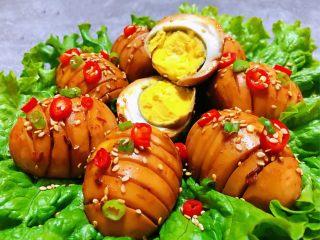 香辣啤酒卤蛋,鸡蛋的营养超级丰富是家家户户必不可少的营养食物