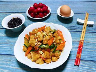 小炒扇贝丁,扇贝丁的营养非常丰富多吃对身体有益处