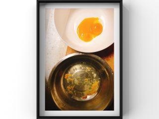 酸奶蓝莓蛋糕,蛋清蛋黄分离