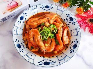 西红柿茄汁仙贝大海虾