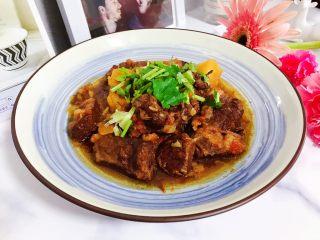 西红柿土豆炖牛腩(高压锅版),非常美味