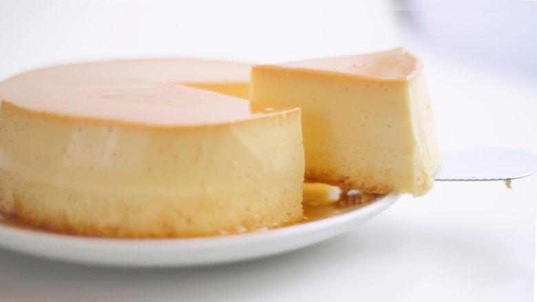 焦糖布丁轻乳酪蛋糕