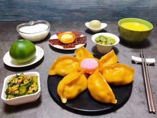 玉米面酸菜蒸包,美好的一天营养丰富的早餐开启吧