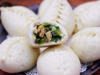 蘑菇海虹麦穗包,啦啦啦,好吃又营养美味的蘑菇海虹麦穗包子出锅咯。