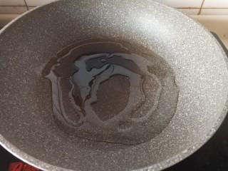 虎皮尖椒酿肉,热油锅