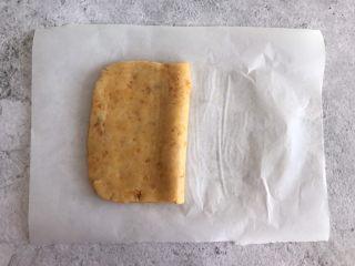 网红咸蛋黄饼干,折叠五次