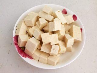 最正宗的麻婆豆腐,把北豆腐切成小块