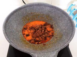 最正宗的麻婆豆腐,加入牛肉粒