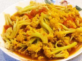 番茄咖喱菜花