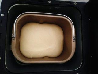 大列巴,面团发酵至1.5倍大