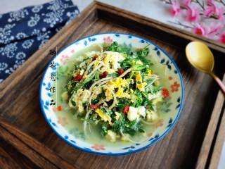 荠菜鸡蛋汤