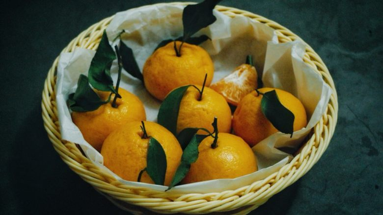仿真橘子馒头