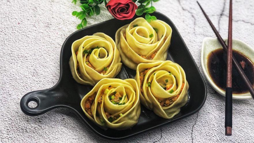 玫瑰花🌹饺子