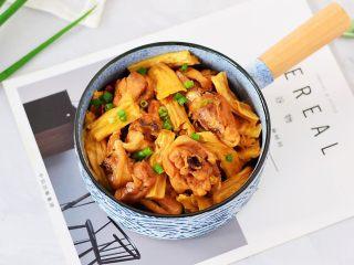 鸡块炖腐竹
