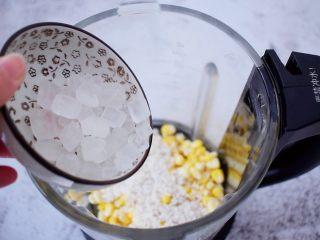 香浓奶香玉米汁,加入冰糖