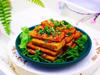 香辣煎豆腐,成品一