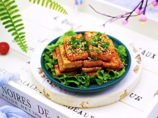 香辣煎豆腐