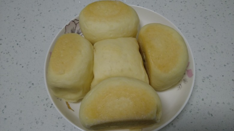 蒸豆沙面包