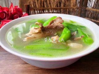 筒骨芥菜汤,成品图二