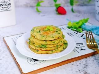 快手早餐~蔬菜鸡蛋饼
