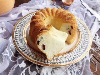 蔓越莓天使蛋糕,完成。