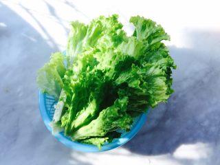 蚝油生菜,生菜洗干净沥干水分备用