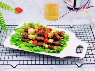 时蔬美味牛肉串