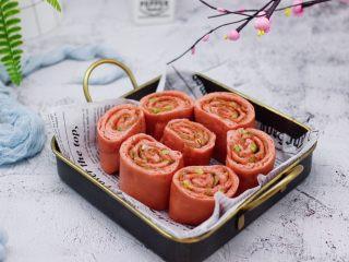 蒜香粉嫩肉龙花卷