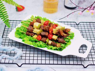 时蔬美味牛肉串,成品一