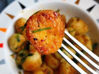 香煎小土豆,一口一个好诱人