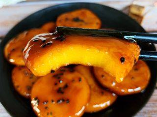 红糖南瓜饼,成品细节