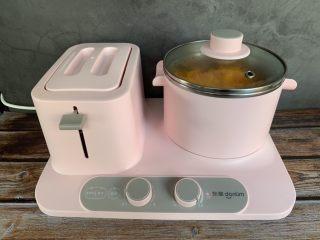 红糖南瓜饼,放东菱早餐机蒸熟