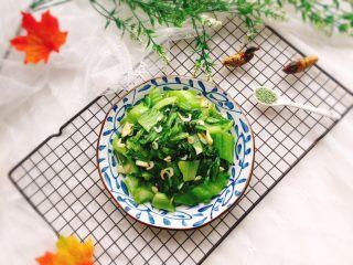 盖菜炒虾米+春天的味道