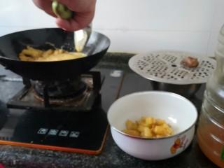 孜然土豆,有点像油炸土豆的时候将土豆捞出来。