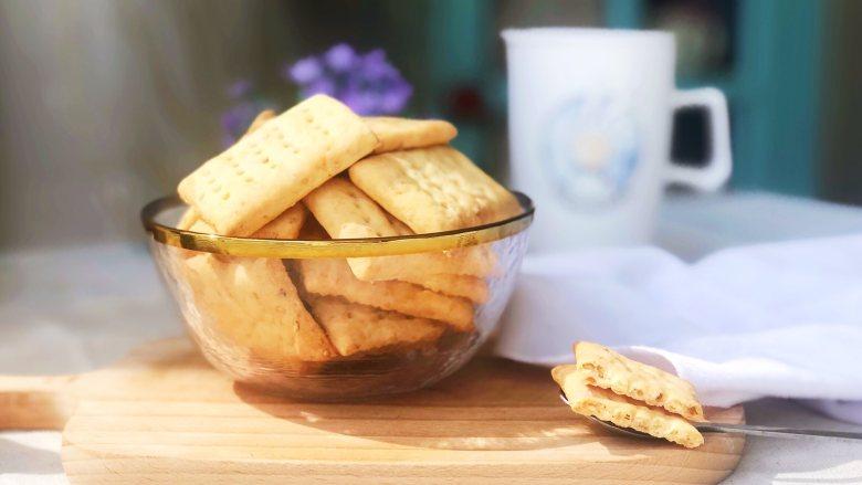 芝麻奶香苏打饼干