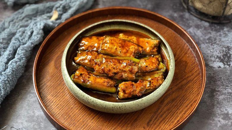 香辣可口的青椒酿肉