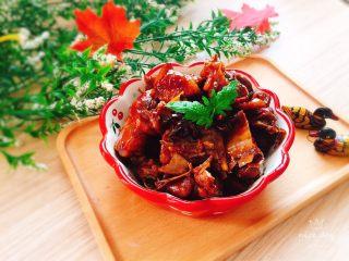 红烧鸭肉,成品图
