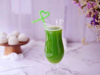 黄瓜雪梨汁,成品图