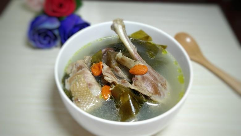 海带鸭子汤